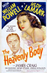 The Heavenly Body 1944 DVD - William Powell / Hedy Lamarr